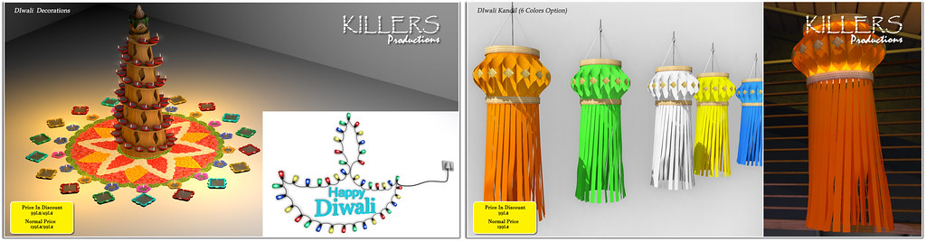 """Killer's"" Diwali Deocration Stuff on Sale @ inworld Store For a Week"