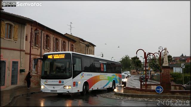 Irisbus Arway – RDT 31 (Régie départementale de Transport de la Haute-Garonne) / liO (ex – Arc-en-Ciel) n°5802
