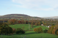 Holcombe Hill from Tottington Road