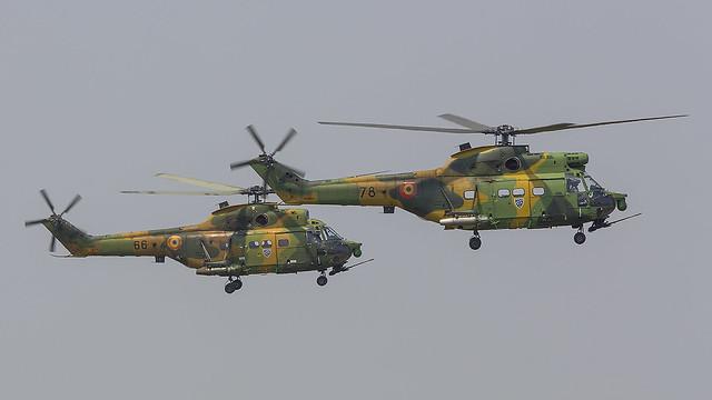 78, IAR 330 SOCAT Romania Air Force @ Campia Turzii LRCT