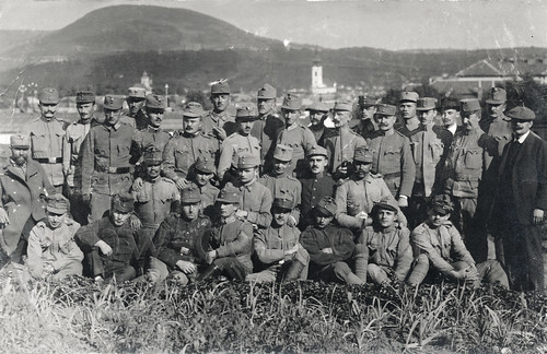 Soldier group of the Austro-Hungarian Army - Gruppenfoto von soldaten der k.u.k. Armee