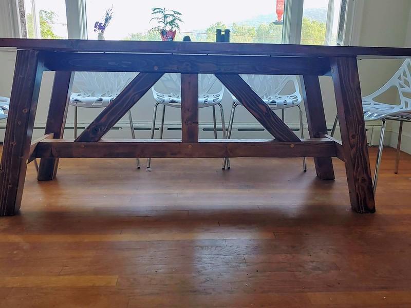 New Farmhouse Dining Table
