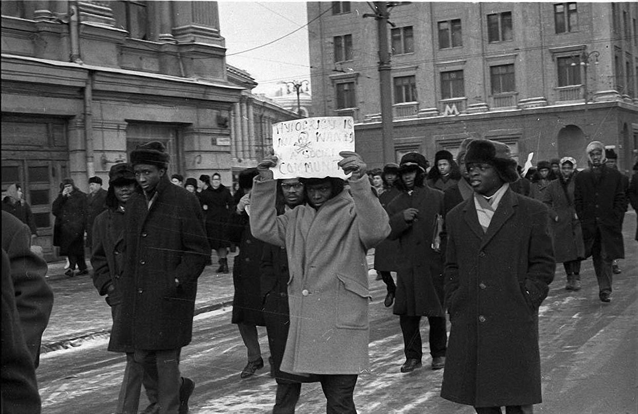 1963. Протест на Красной площади. декабрь (2)