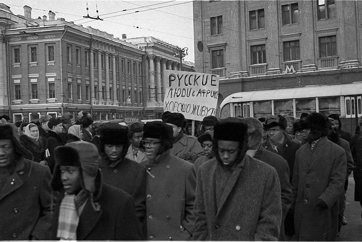 1963. Протест на Красной площади. декабрь (1)