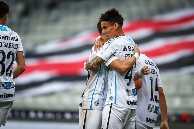 Athlético x Grêmio - Brasileirão 2020 - 25/10/2020