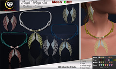 Angel wings set - with hud & resizer