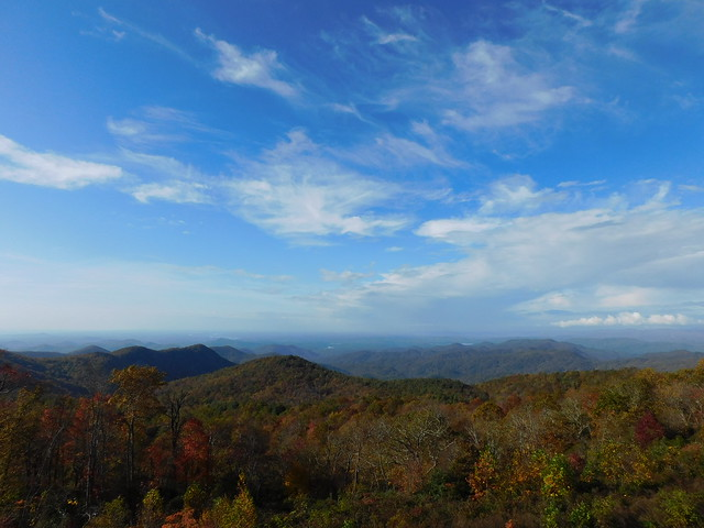 View from Sassafras Mountain