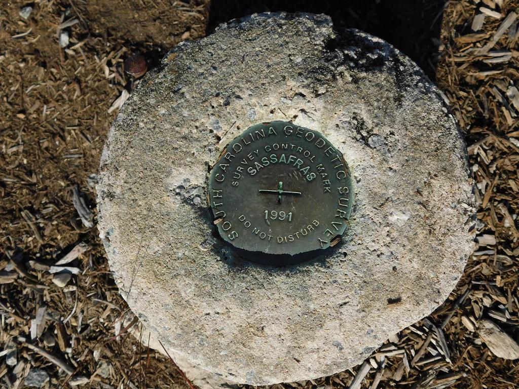Sassafras Mountain USGS Medallion