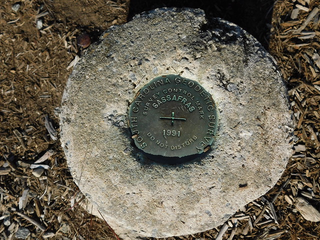 Sassafras Mountain USGS Medallion