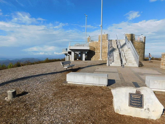 Sassafras Mountain Observation Deck