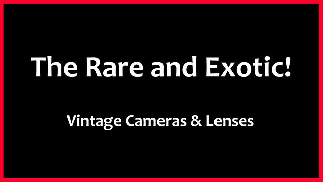 YouTube: £50K camera, £20K lens + many more!