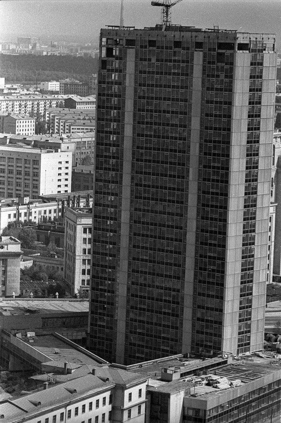 1965. Новое здание НИИ «Гидропроект». Развилка Ленинградского и Волоколамского шоссе