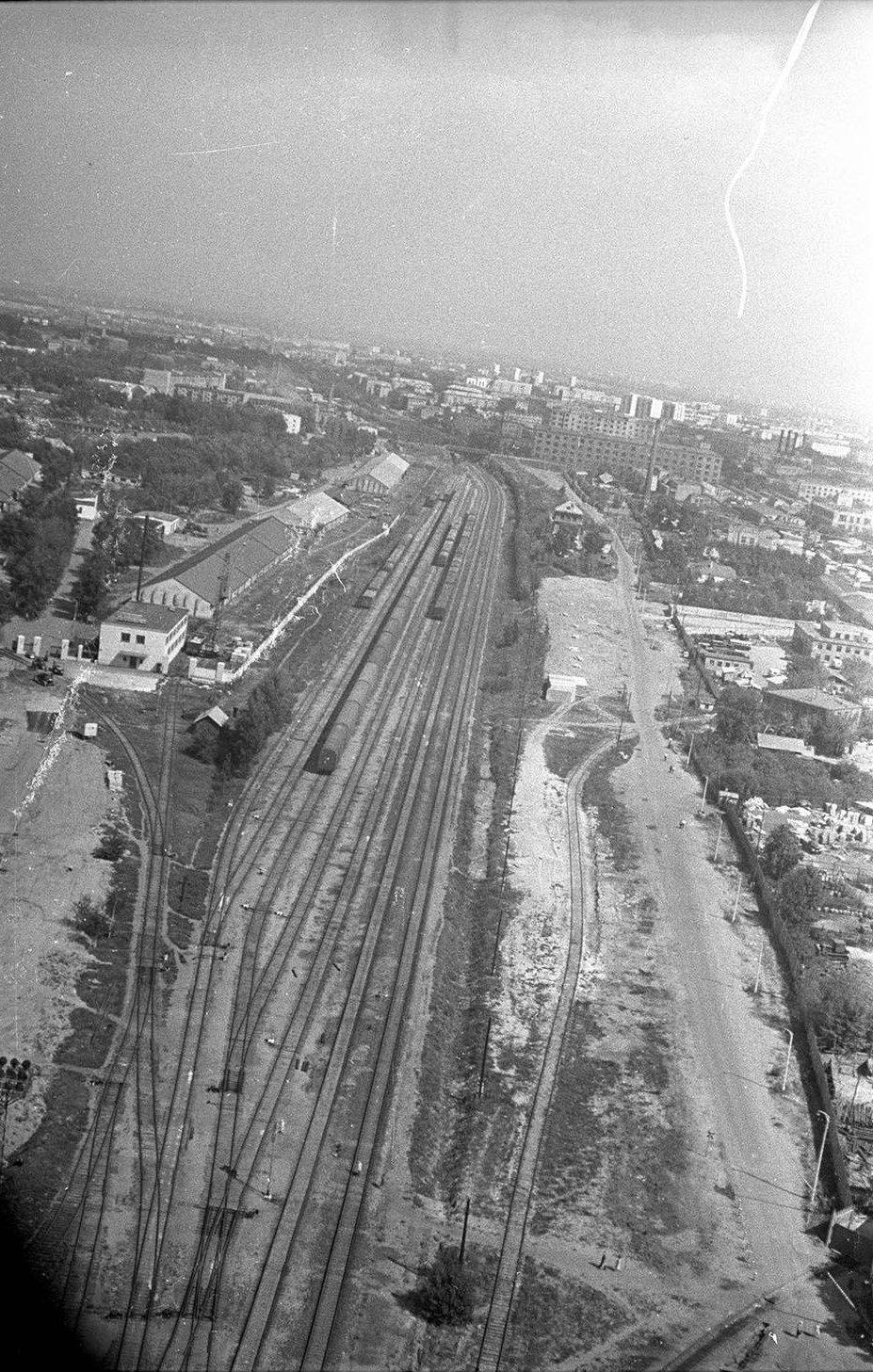 1965. Волоколамское шоссе. Железнодорожные магистрали