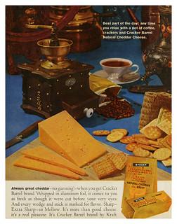 Kraft Cracker Barrel Cheese (1961)
