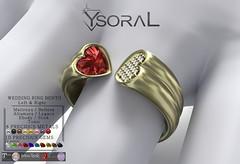 ~~ Ysoral ~~ .: Luxe Wedding Ring Mila:.(BENTO)