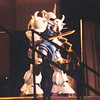 MS-07 Gouf from Gundam 8th MS Team at the #AnimeExpo 2003 masquerade. It won Best of Show, Craftsmanship Individual. Armor builds were always visually impressive as was how they got on and off the stage! #animeexpo2003 #ax2003 #cosplay #masquerade #gundam