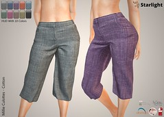 :: SA :: Millie - Culottes with HUD - Cotton