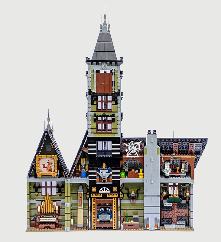 10273: LEGO Haunted House Set Review