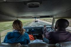 Schon die Fahrt ist ein Abenteuer