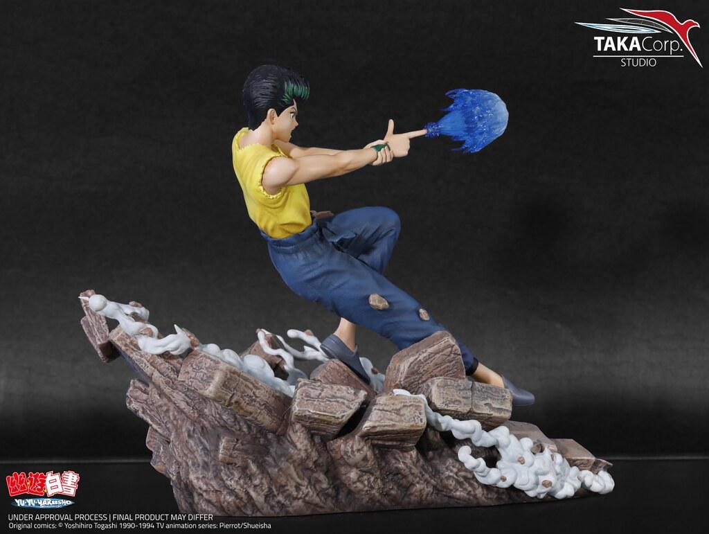 靈界可不是這麼好混的!Taka Corp Studio《幽☆遊☆白書》「幽助」1/6比例 限量雕像