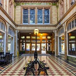 Inside the Victorian Miller Arcade, Preston