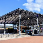 The Victorian market canopy at Preston