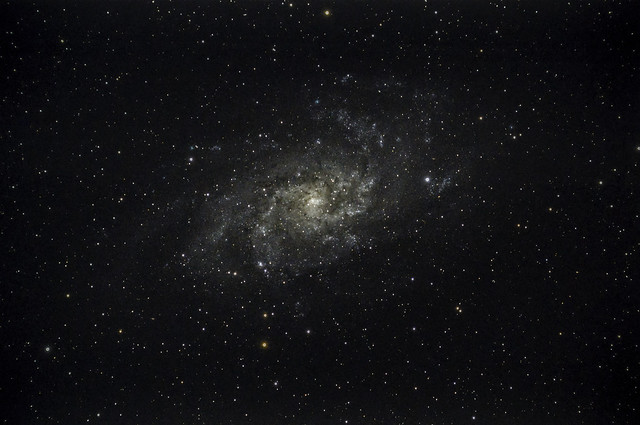 Messier 33 - The Triangulum Galaxy - Reprocessed by Bob Stuart