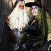 Bread & Table 2020, Bodacious Victorian Vampire Dinner, Jimmy the wizard and Lisa the witch 2