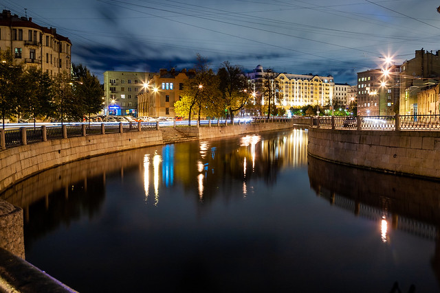 Karpovka river
