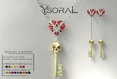 ~~ Ysoral ~~ .: Luxe Necklace & Earrings Lena:.