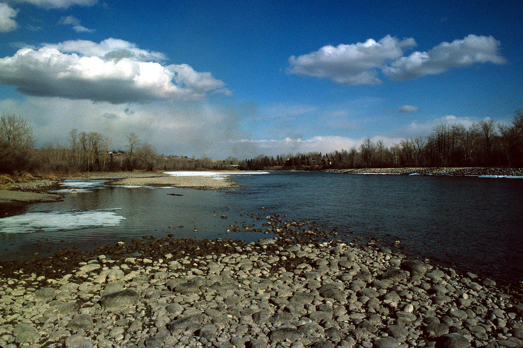 Bow River, Low Water