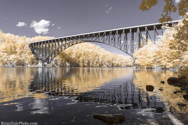 French King Bridge - 590nm IR