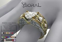 ~~ Ysoral ~~ .: Luxe wedding ring Candice :. (WEDDING RING BENTO)