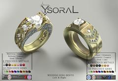 (BENTO)~~ Ysoral ~~ .: Luxe wedding ring Candice & Enzo :.