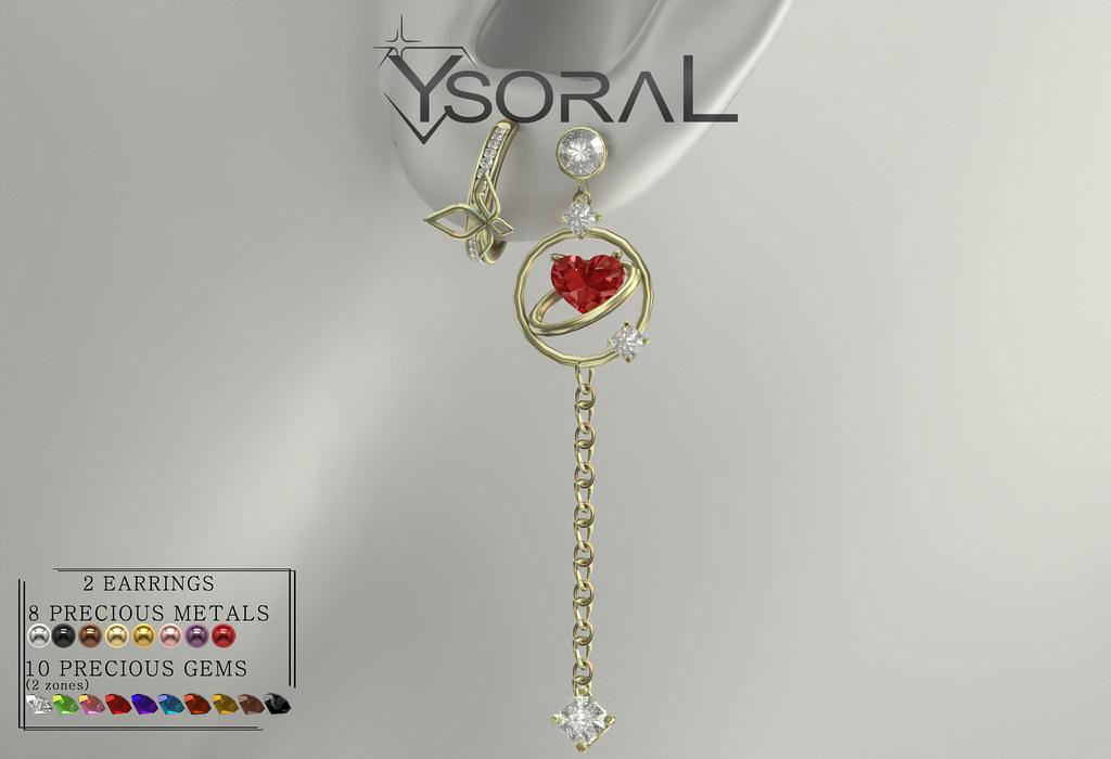 ~~ Ysoral ~~ .: Luxe Earrings Anna :.