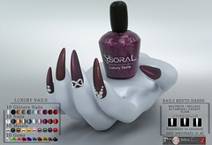 ~~ Ysoral ~~ .:Luxe Nails Glitters Alice:.(BENTO)