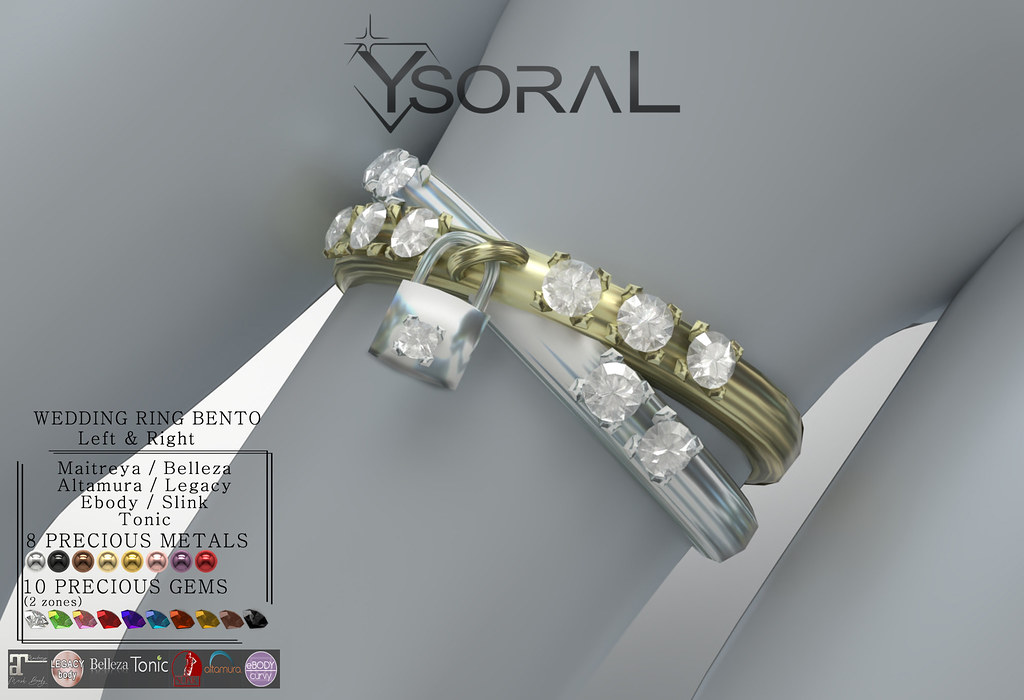 ~~ Ysoral ~~ .: Luxe wedding ring Pauline :.(BENTO)