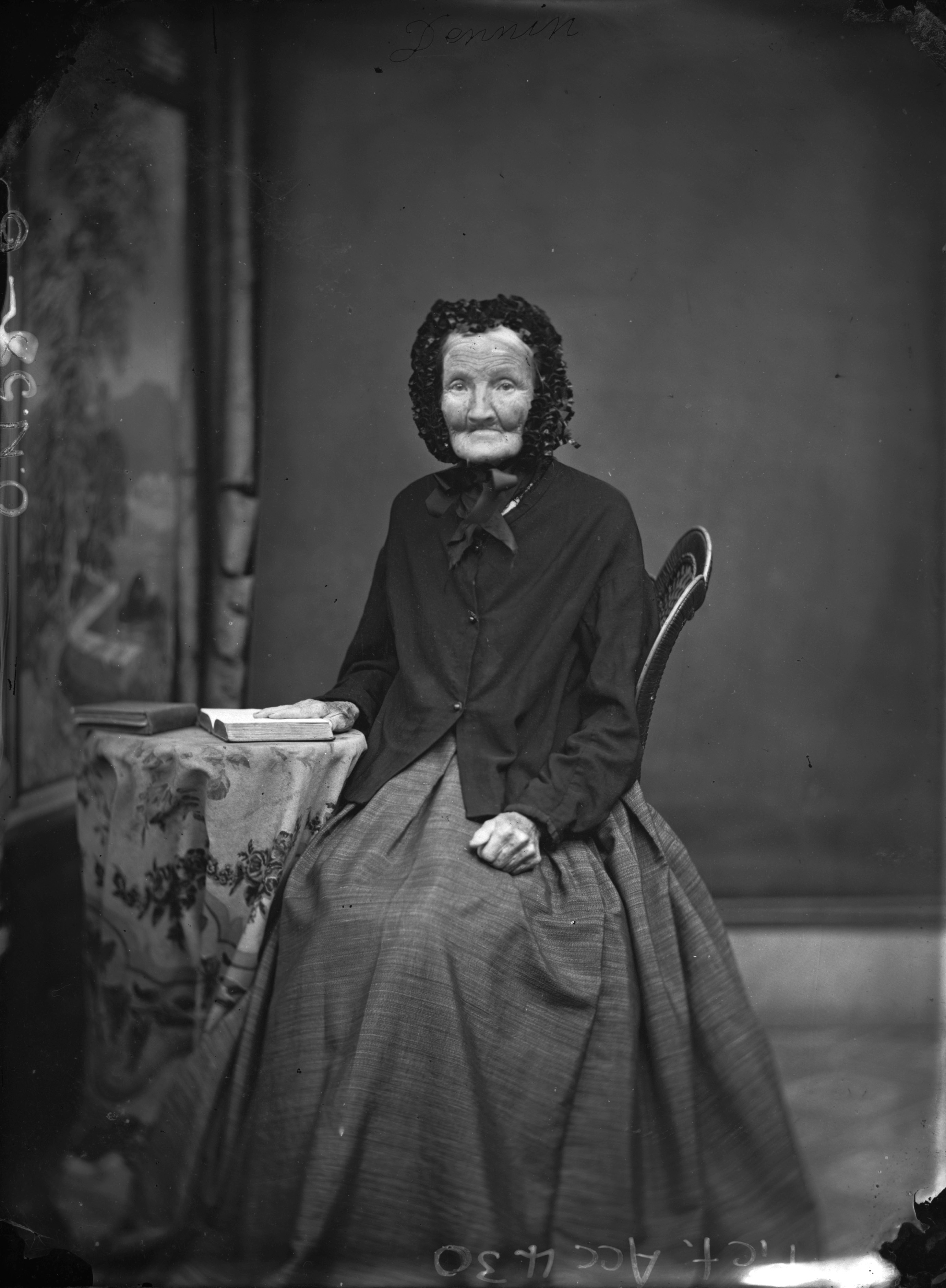 Old Mrs Denning, ca. 1865, Parramatta, by Henry William Burgin II