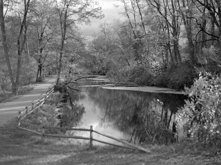 Feeder Canal and Tow Path, Schuylerville