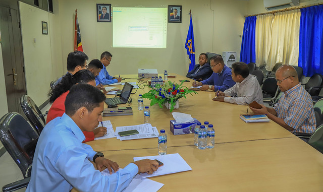 Coordination Meeting between ANC and the Legal Office of MTC on Ministerial Diploma on maximizing utilization of radio frequency spectrum for mobile services.