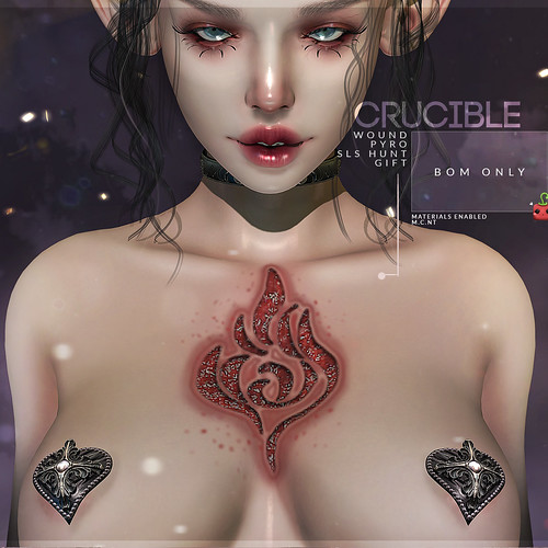 {Crucible} wound Pyro [Cubic Cherry] @ SLS halloween hunt