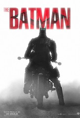 "BossLogic ""The Batman"" movie poster based off Joshua Mellin original images"