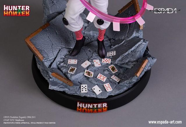 伸縮自在的愛~Espada Art《獵人HUNTER×HUNTER》西索·莫羅 1/6比例 限量雕像