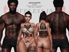 Loveless Ink - Santa Muerte (2much)