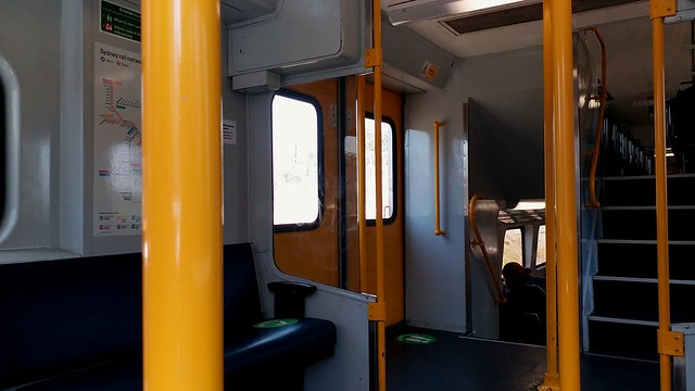 Vestibule View On board K68
