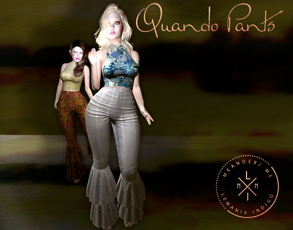 New @ Meander – Quando Pants