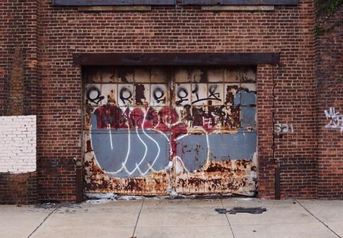 Garage Graffiti Door