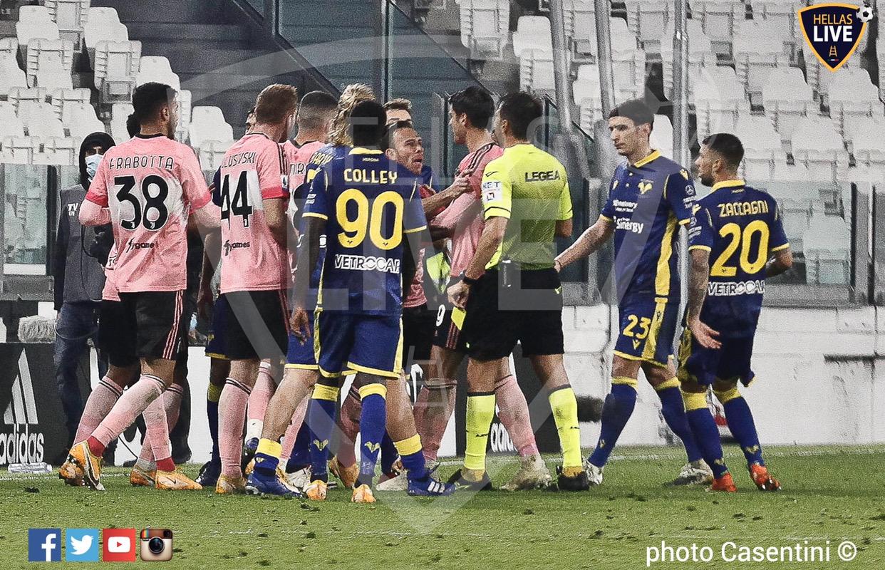 Juventus-Hellas Verona 1-1. La moviola de La Gazzetta dello Sport | Hellas  Live