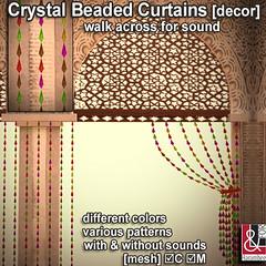 Crystal Beaded Curtains set