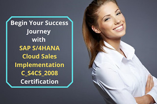 Kick Start Your Career with SAP S/4HANA Cloud Sales Implementation C_S4CS_2008 Certification